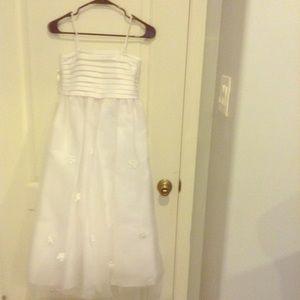 Other - FLOWER GIRL dress - BRAND NEW very white - long